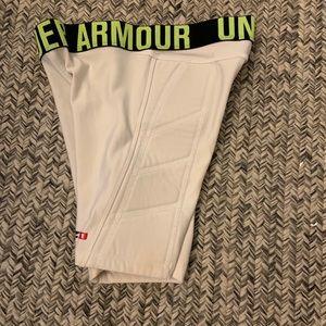 Under Armour softball compression shorts